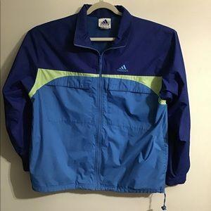 Adidas Jacket blue. Large